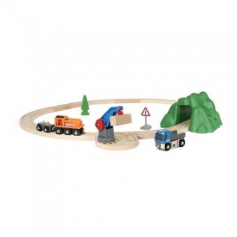 Starterset Güterzug mit Kran