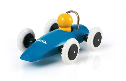 Rennwagen blau