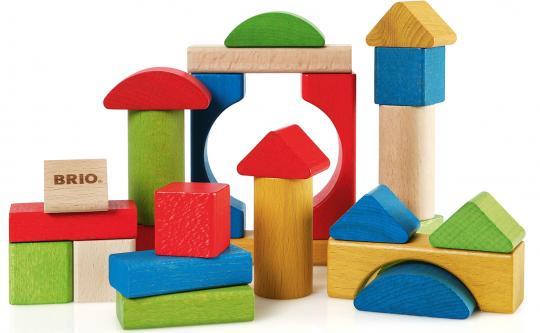 Bunte Holzbausteine 25 Teile
