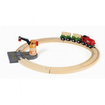BRIO Bahn Starterset mit Magnetkran