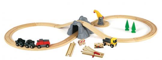 Value Pack: BRIO Bahn Minen Set mit Batterielok