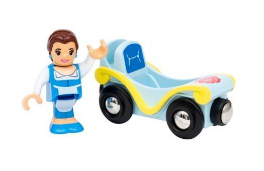 Disney Princess Belle mit Wagen