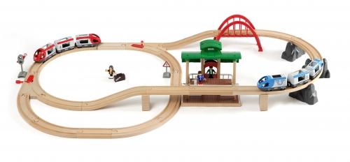 Großes Bahn Reisezug-Set