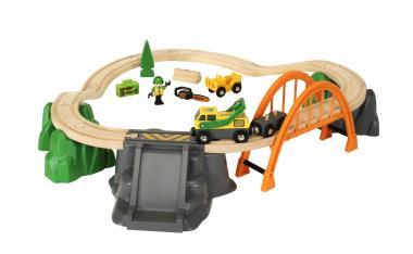 BRIO Bahn Waldarbeiter-Set