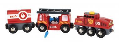 Feuerwehr-Löschzug