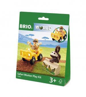 Spielpäckchen Safari mit Fahrzeug