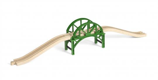 Stapelbrücke mit Rampen