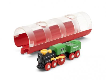 Tunnel Box Dampflokzug