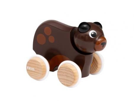 Lustiger Schiebe-Bär