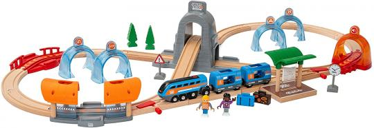 Smart Tech Sound Action Tunnel Reisezug-Set