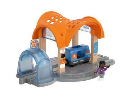 Smart Tech Sound Bahnhof mit Action Tunnel