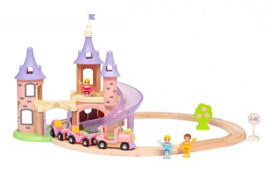 Princess Traumschloss Eisenbahn-Set