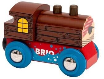 BRIO Super Sammel-Lok: Pirat