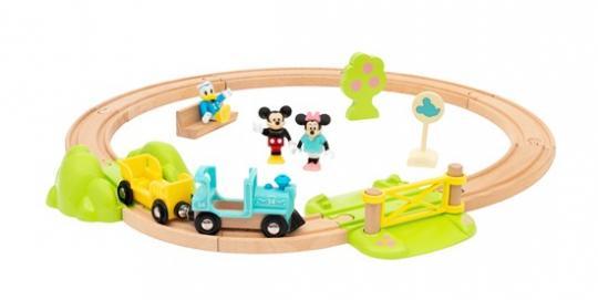 Micky Maus Eisenbahn-Set