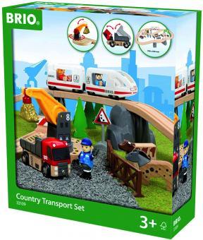 BRIO Country Transport Set