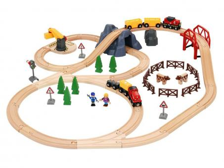 BRIO Bahn Großes Countryside & Cargo Set
