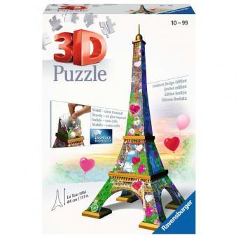 Ravensburger 3D Puzzle Eiffelturm Love Edition