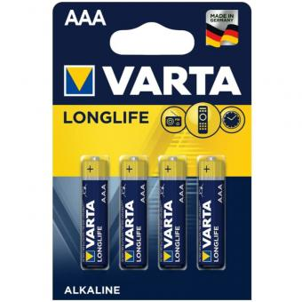 VARTA Longlife - Batterien AAA 1,5 V ALKALINE