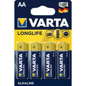 VARTA Longlife - Batterien AA 1,5 V ALKALINE