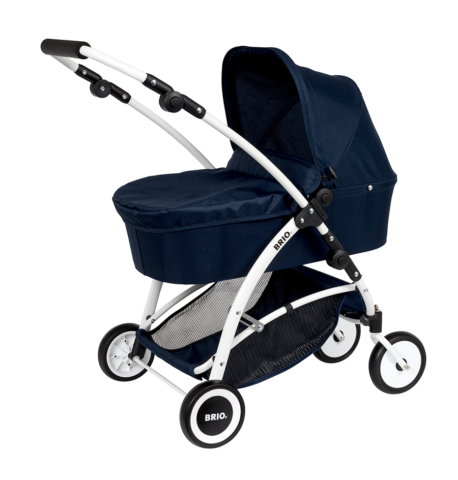 BRIO - | BRIO Puppenwagen Spin blau | im BRIO Online-Shop