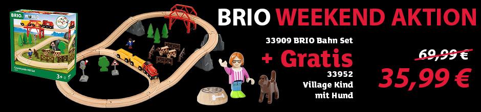 BRIO Weekend Aktion